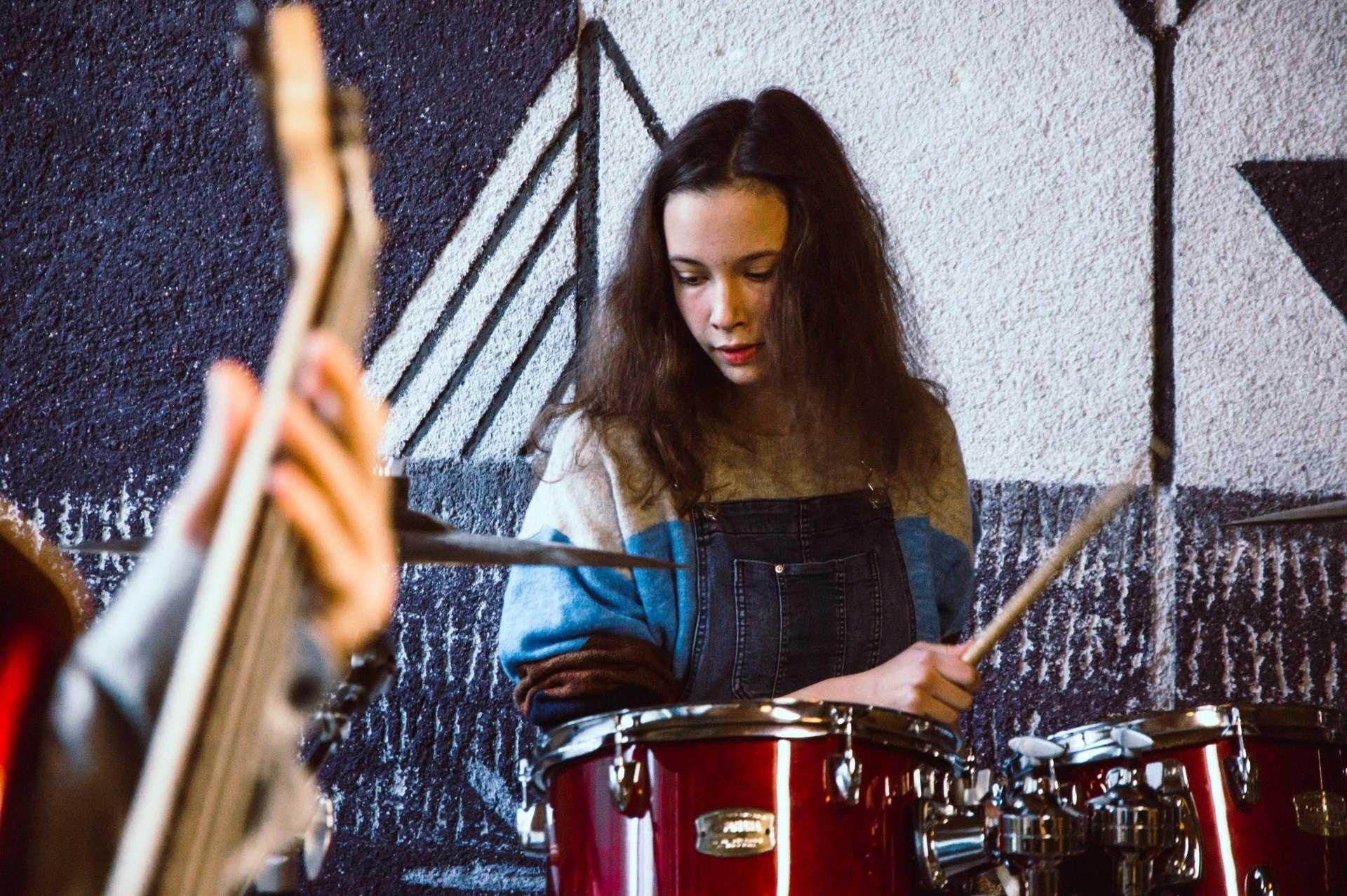 poučevanje bobnov