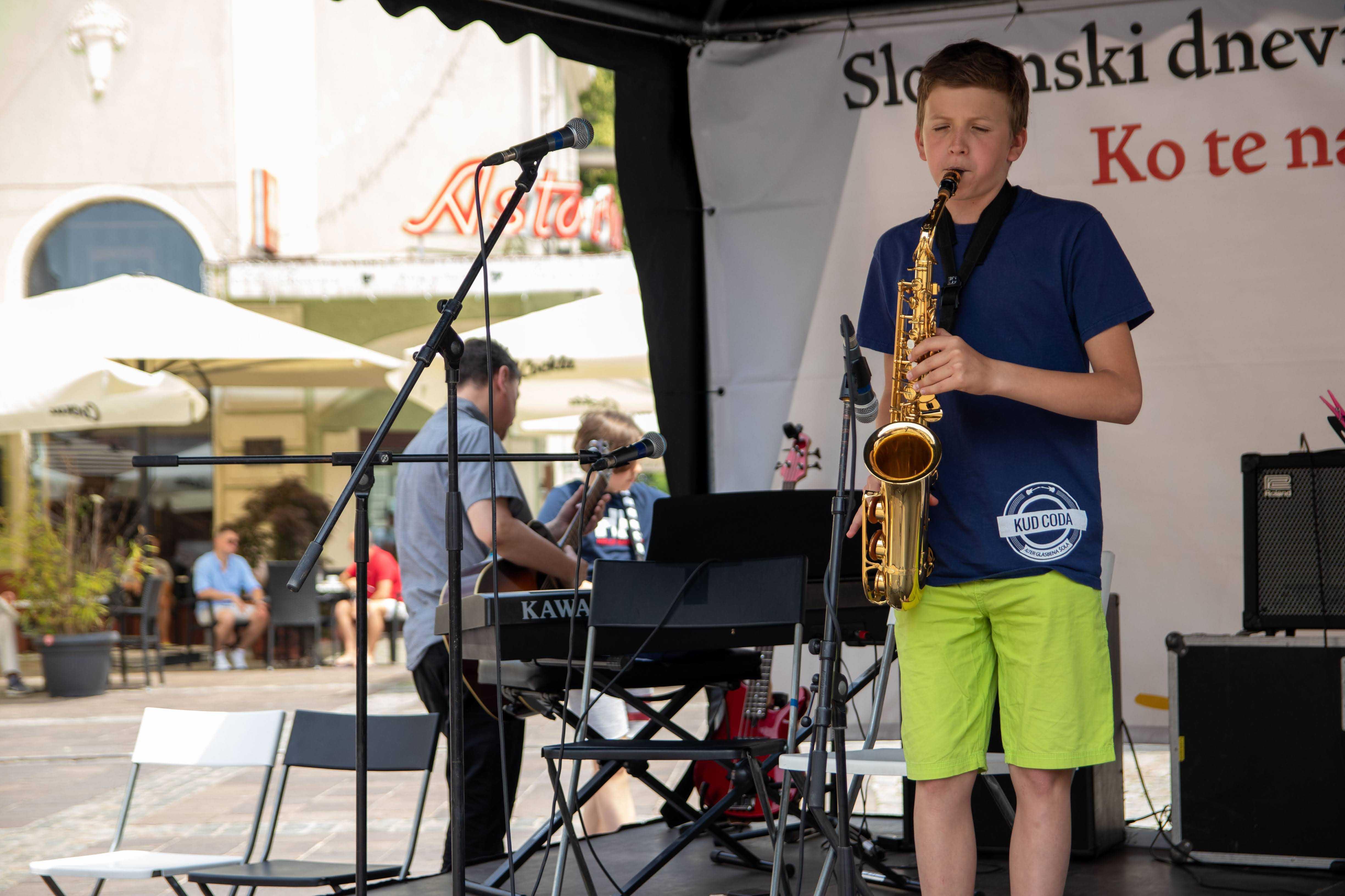 učenje saksofona maribor